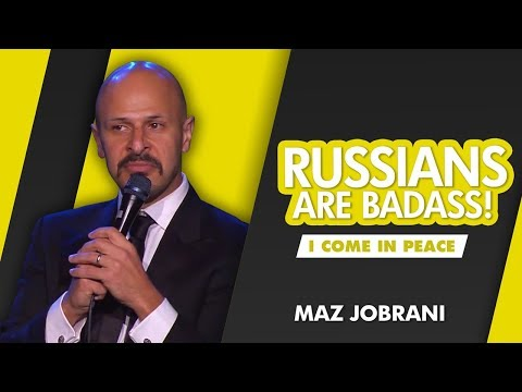 'Russians Are Bad Ass!' | Maz Jobrani - I Come in Peace