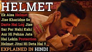 Helmet Movie Explained In Hindi   Aparshakti Khurana   2021   Filmi Cheenti Thumb