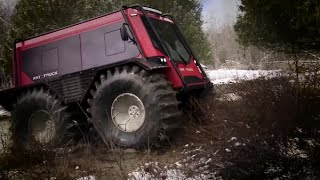 Meet the Fat Truck 2.8 C Off-Road Utility Vehicle Powered by the Cat® C2.2 Industrial Engine