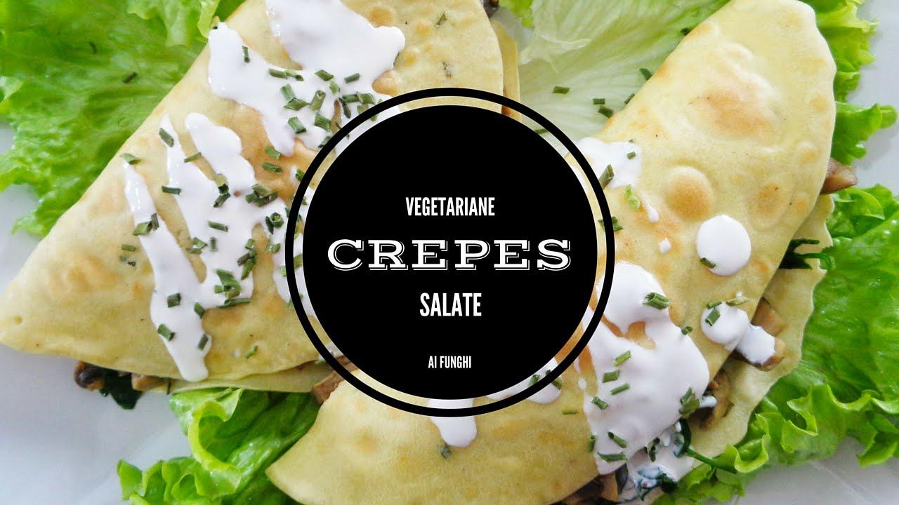 Ricetta crepes salate vegan