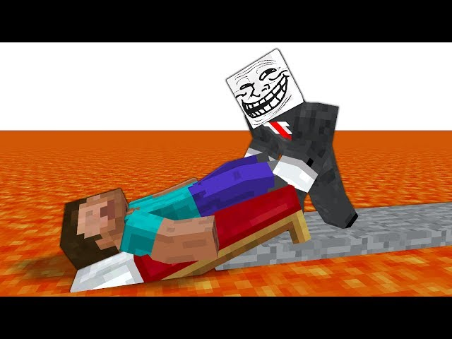 TROLL VS MINECRAFT #8