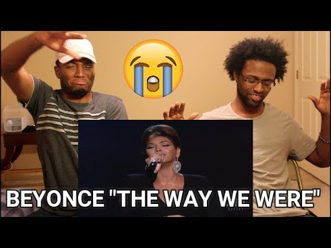 The Way We Were (Barbra Streisand Tribute) - Beyonce - 2008 Kennedy Center Honors (REACTION)