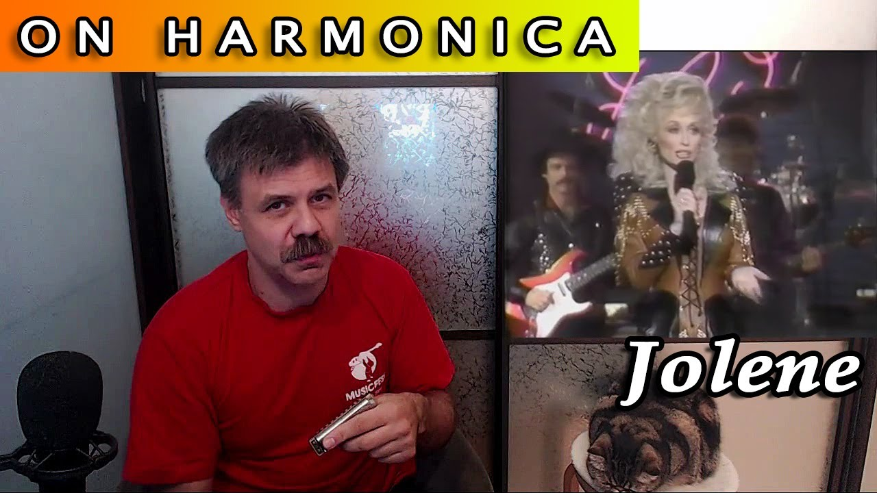 Joline on the harmonica (Dolly's Parton cover)