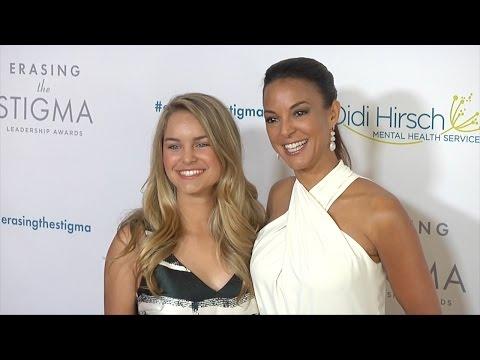 Eva LaRue & Daughter Kaya 20th Annual Erasing the Stigma Awards Red Carpet thumbnail