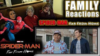 Spider-Man | Far From Home | teaser trailer | FAMILY Reactions