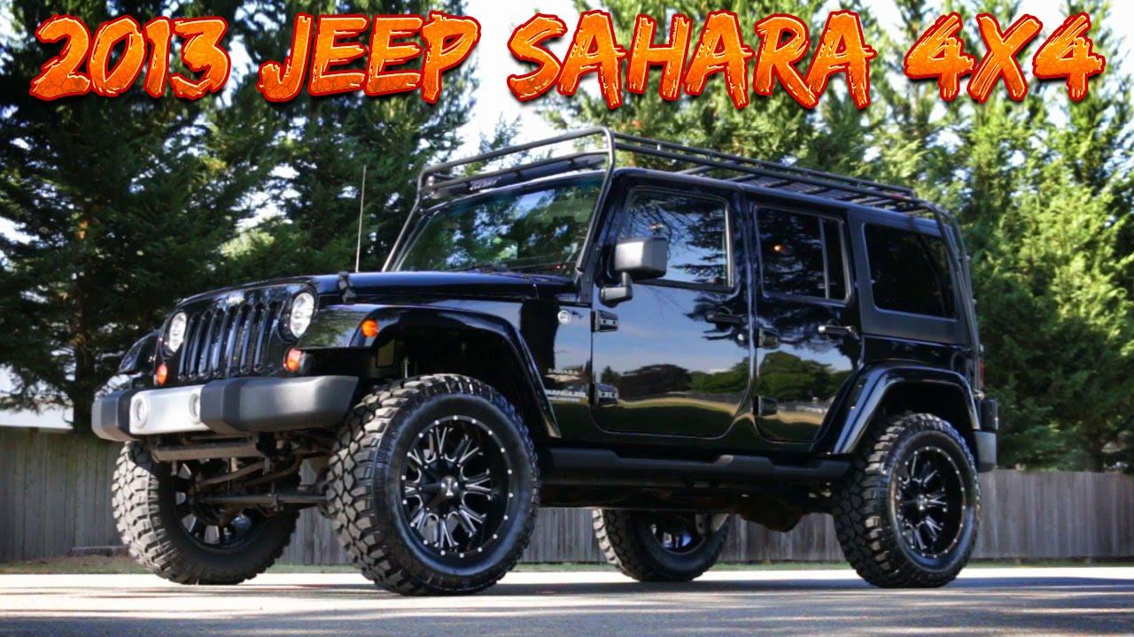 2013 Jeep Wrangler Unlimited Sahara 4x4   Northwest Motorsport