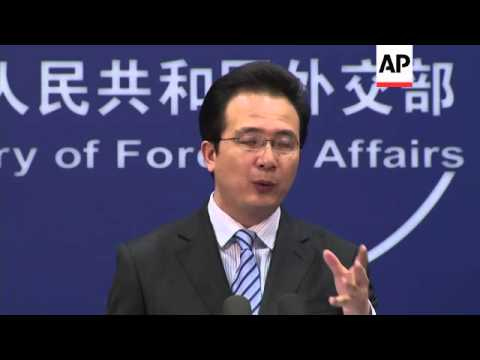 China Foreign Ministry says Germany has shown remorse while Japan still deny invasion
