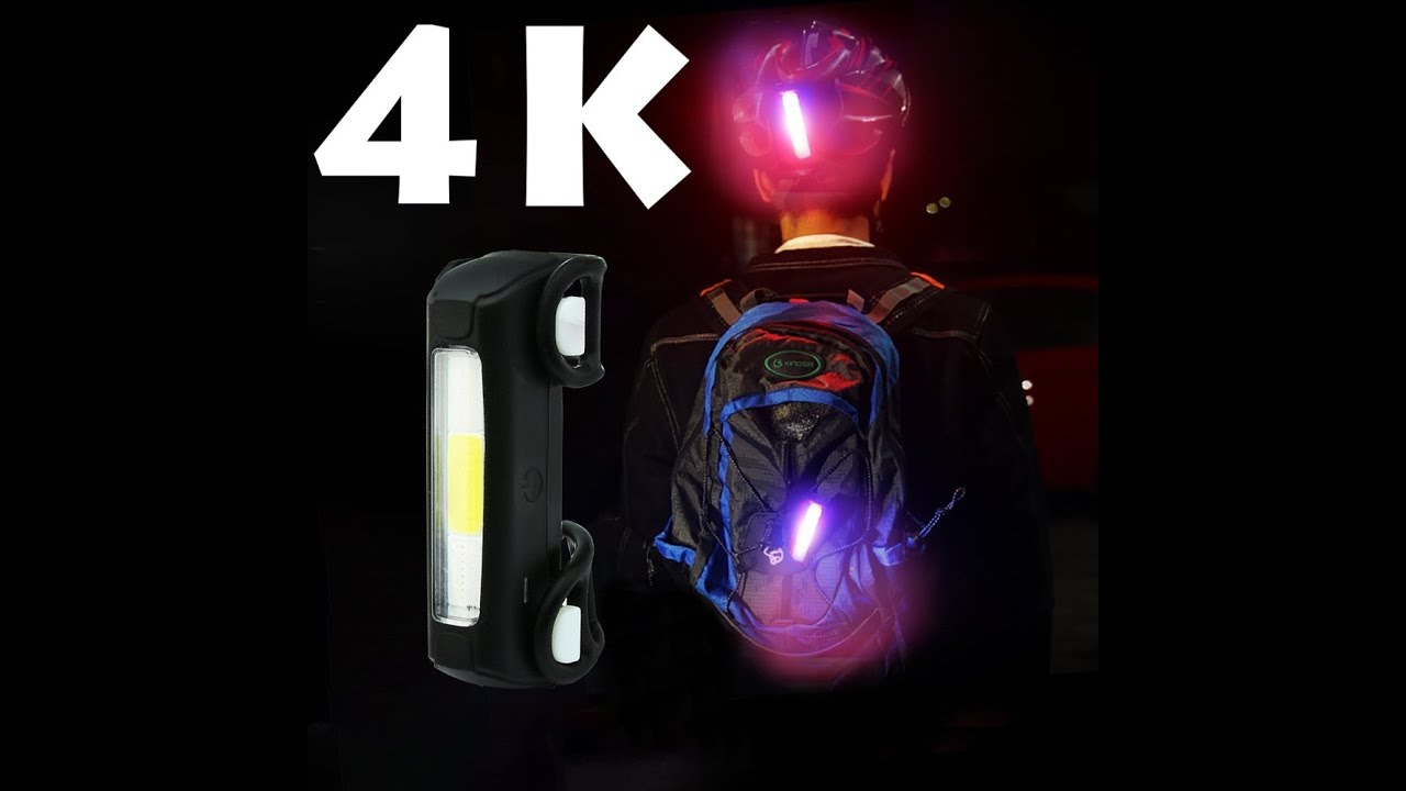 Police light three colour Lista Ultra Bright Bike Light USB Bicycle Tail Light 7Modes High Intensity