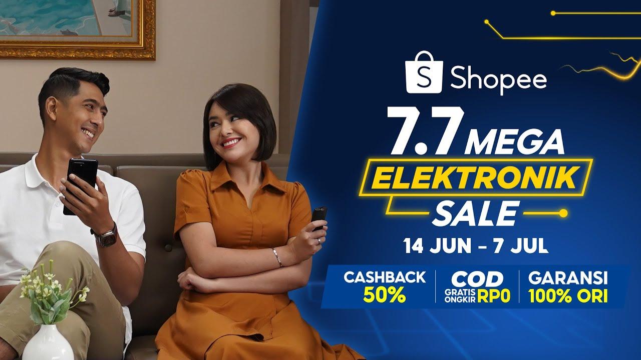 Mas Al Perhatian Banget! Andin Dapet HP Baru di Shopee 7.7 Mega Elektronik Sale