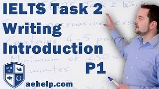 IELTS task 2 writing introduction part 1 of 2