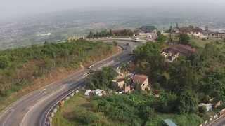 GHANA - Aburi road to Accra - DJI P2V+ [2014]