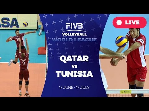 Qatar v Tunisia - Group 3: 2016 FIVB Volleyball World League