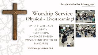 Sunday Worship Service 2021-04-11