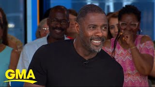 Idris Elba dishes on the action-packed 'Hobbs & Shaw' l GMA