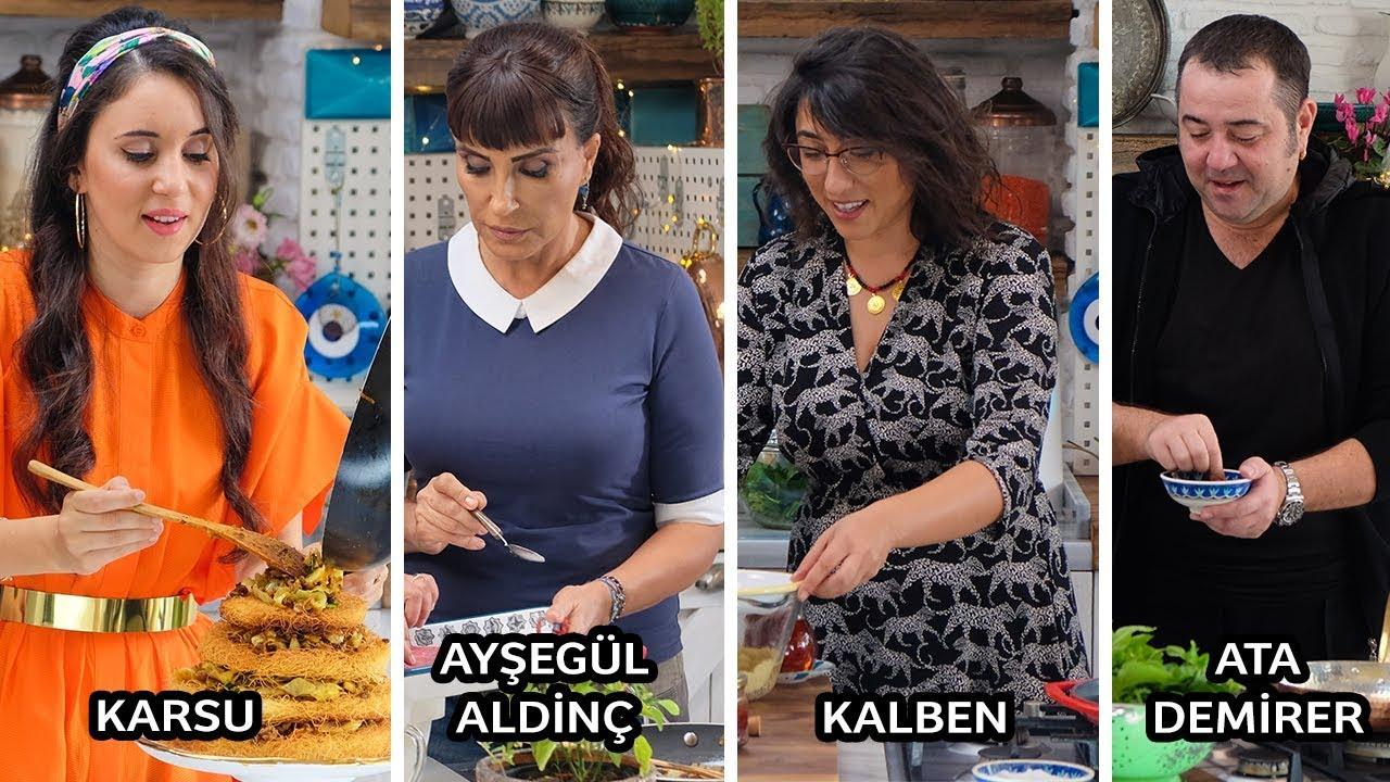 Ata Demirer, Kalben, Ayşegül Aldinç ve Karsu ile Mutfakta Yaşanan Komik Anlar