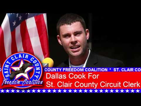 Dallas Cook to run for St. Clair County Circuit Clerk