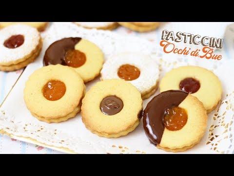 pasticcini-occhi-di-bue-fatti-in-casa-ricetta-facile-e-tanti-gusti---butter-biscuits