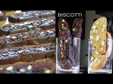 Chocolate Pistachio Biscotti – Bruno Albouze – THE REAL DEAL