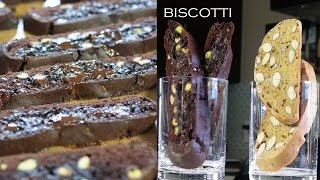 Chocolate Pistachio Biscotti – Bruno Albouze – The Real Deal