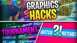 Fortnite Mobile News | Graphics Hacks, Tournaments, Replaymode, AND MORE!