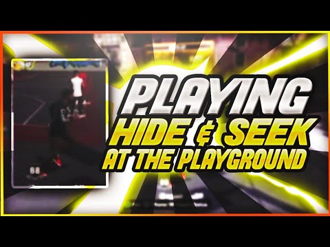 NBA 2K18 First Ever Game Of Hide And Seek At The Playground Pt.1😱 Must Watch!!!!🔥