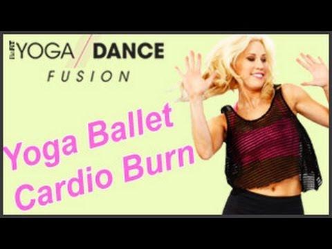 Yoga Ballet Cardio Burn Workout: Yoga Dance Fusion- Sydney Benner