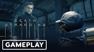 Death Stranding Gameplay Demo With Hideo Kojima (Geoff Keighly + Peeing) - Gamescom 2019