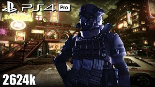 Resident Evil 6 PS4 Pro NO MERCY 2624k Urban Chaos AGENT 60fps