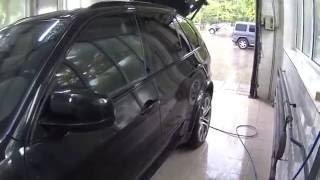 Снятие жидкой резины с лаком   Removing liquid rubber paint