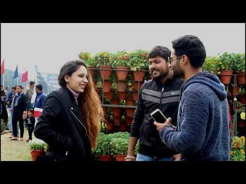 Valentine Week In Panjab University  Pahadi`s In PU Ashish  Rose Festival Chandigarh