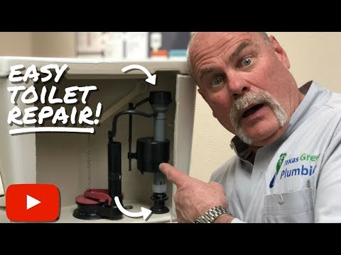 Toilet Repair Fill Valve – DIY Plumbing – The Expert Plumber