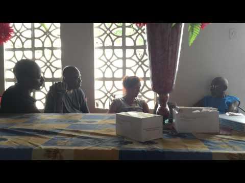 Interview Annette Drews und Bode Omojola mit Pai Euclides