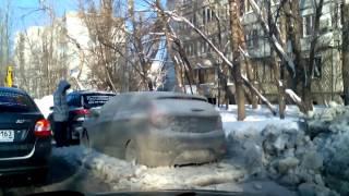 Результат прорыва трубы.Самара. ул.Дачная(, 2016-01-26T12:14:13.000Z)