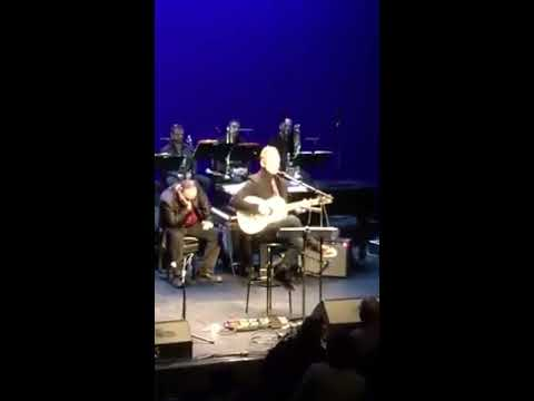Sting's surprise appearance at Rob Mathes Holiday Concert at Schimmel Center 12/18/16