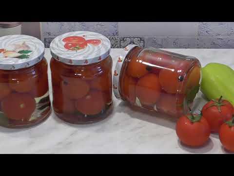 Помидоры ЧЕРРИ маринованные на Зиму Консервация томатов без стерилизации