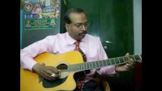Kaalai thendral guitar instrumental by Rajkumar Joseph.M