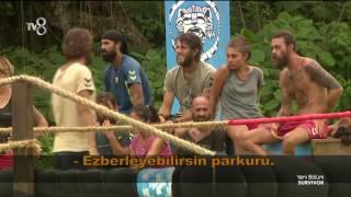 Ödül oyununda Bulut - Tuğçe tartışması! |49. Bölüm | Survivor 2017