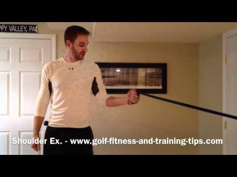 Shoulder Strengthening For Golf