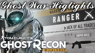Ranger Danger 22 Second ace| Ghost Recon Wildlands Ghost War PVP Highlights