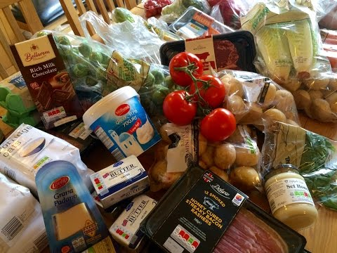 Christmas grocery haul (Ocado, Lidl, Farmers market, Costco - UK)