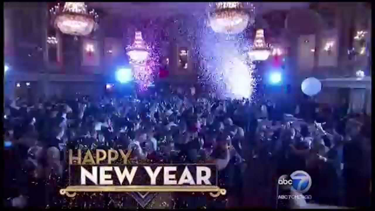 Chicago New Year S Eve At Hilton Chicago Youtube