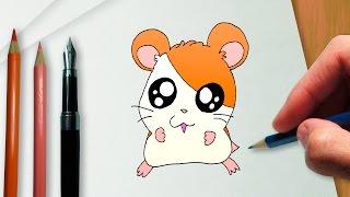 Como desenhar o Hamtaro