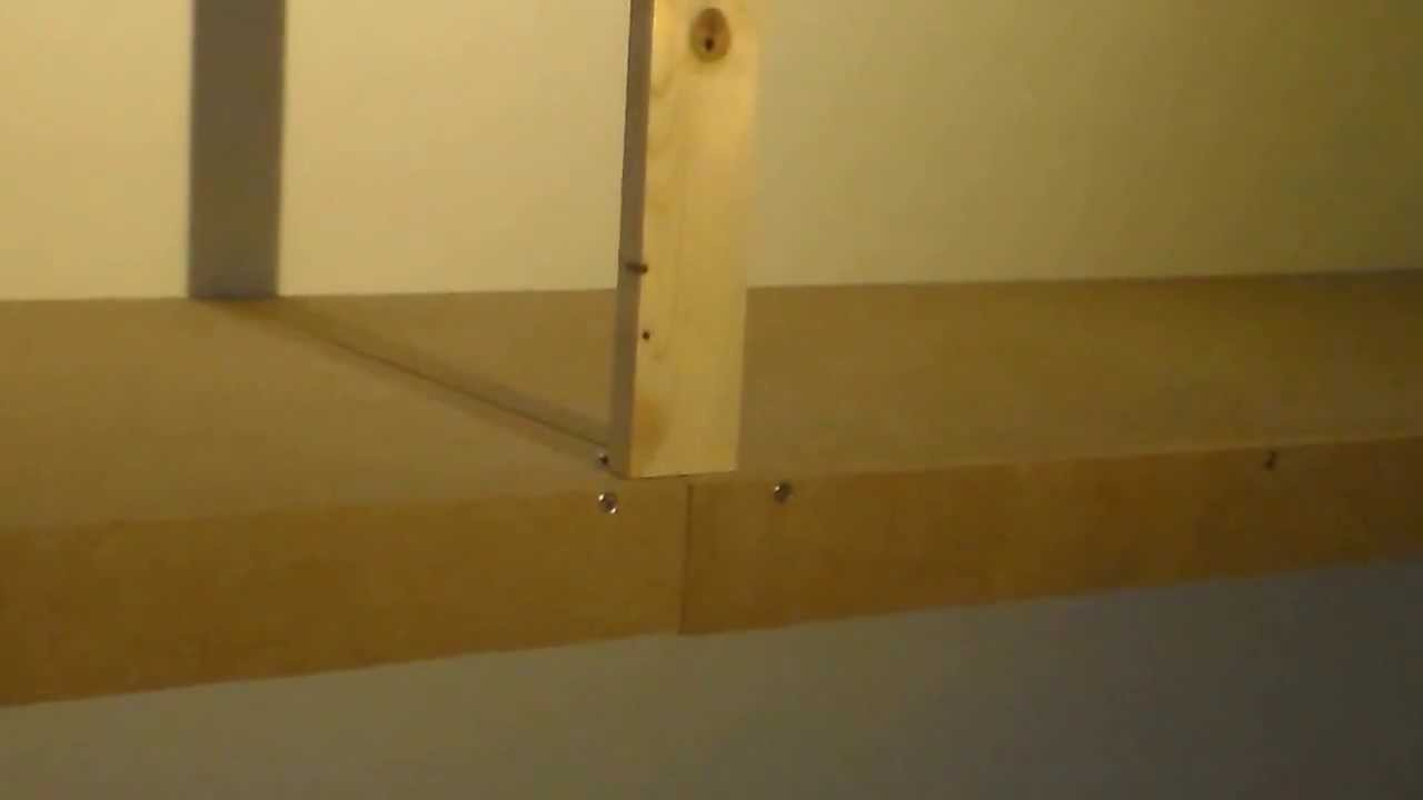 Faire Des Etageres Dans Un Garage Comment Faire Une Etagere Design Pas Cher How To Make A Cheap Shelf