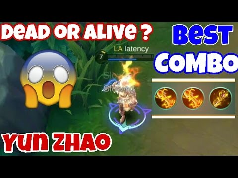 Best CRITICAL STRIKE Combo for YUN ZHAO