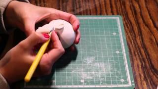 Процесс создания головы шарнирной / BJD куклы