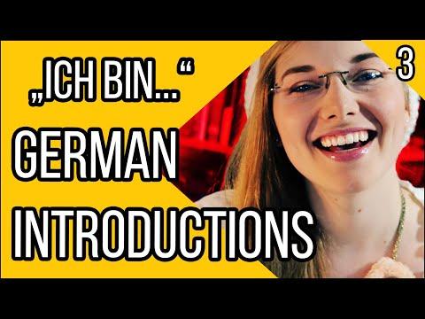 How to duce Yourself in German  Learn German  Deutsch Für Euch  Episode 3