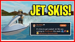 Jailbreak BOATS LEAKED! JET SKIS CONFIRMED! (Next Update) | Roblox Jailbreak