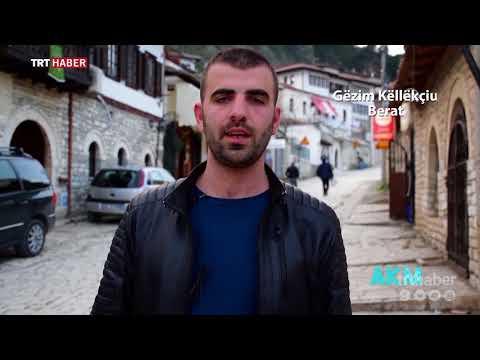 Arnavutluk'tan Afrin'deki Mehmetçiğe destek