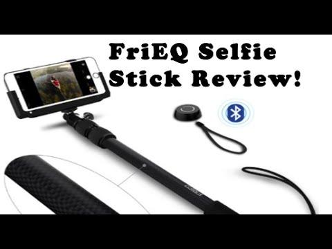 review frieq carbon fiber selfie stick youtube. Black Bedroom Furniture Sets. Home Design Ideas