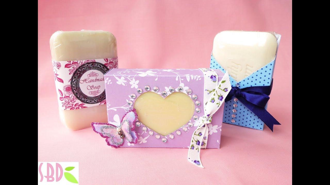 Confezioni per Saponette Fai da te - Handmade Soap Packaging - YouTube